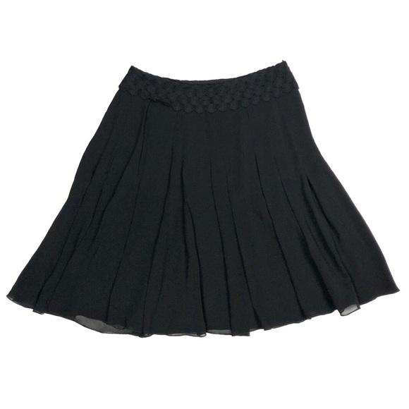 Akris Dresses & Skirts - Akris Black A Line Classic Mini Skirt